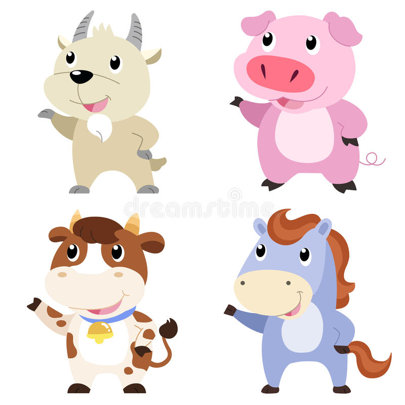 Download Cute Animal Set Stock Photos - Image: 31258693