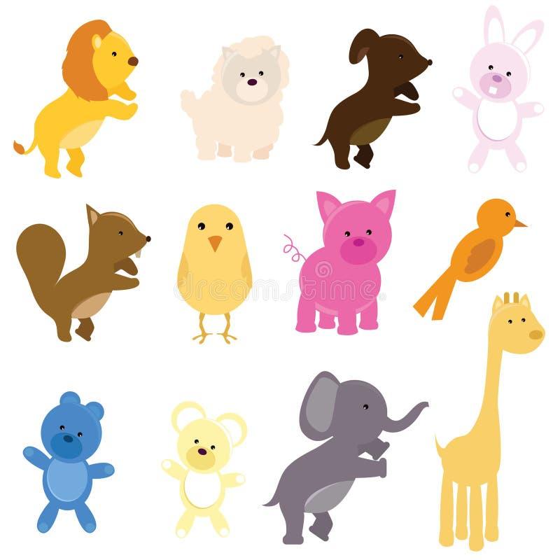 Cute animals royalty free stock photo