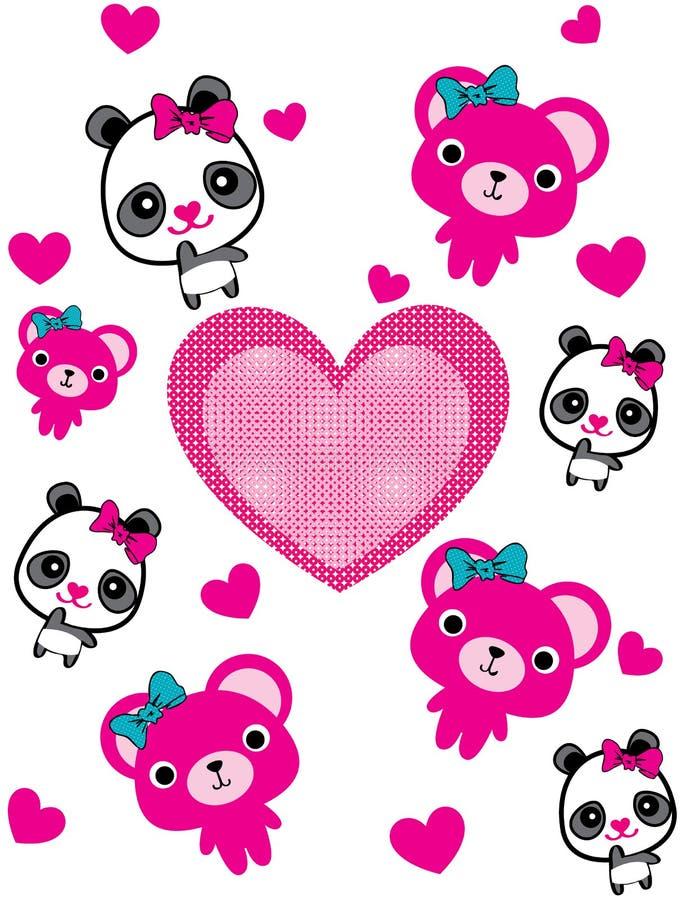 Cute animals walking around globe, Save animals emblem, animal p stock illustration