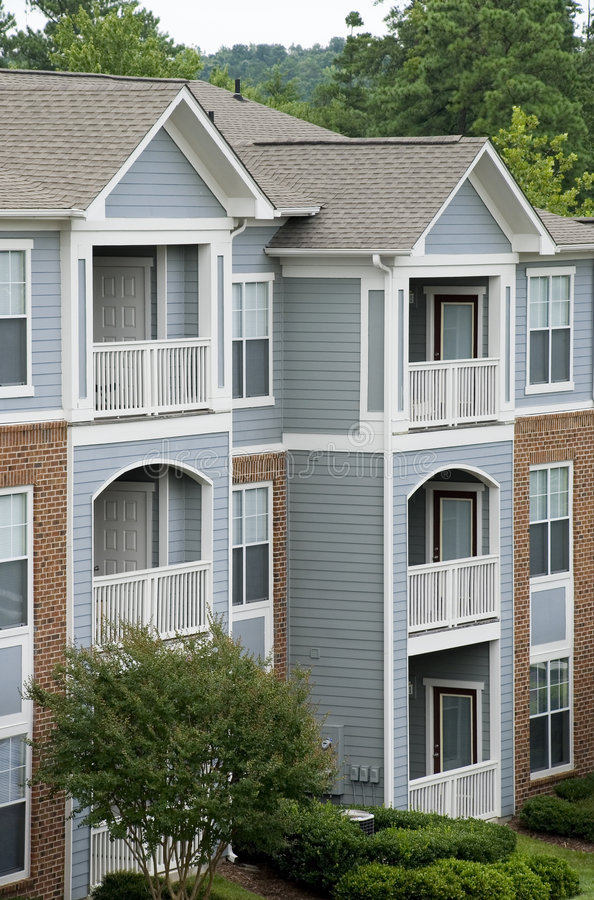 Cute Apartments stock image