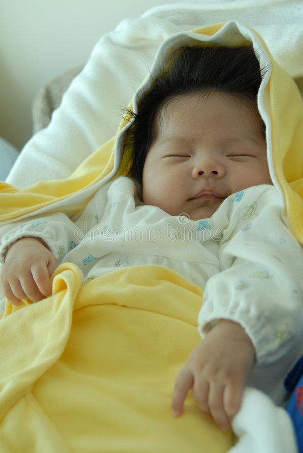 Cute Asian Baby Royalty Free Stock Photography