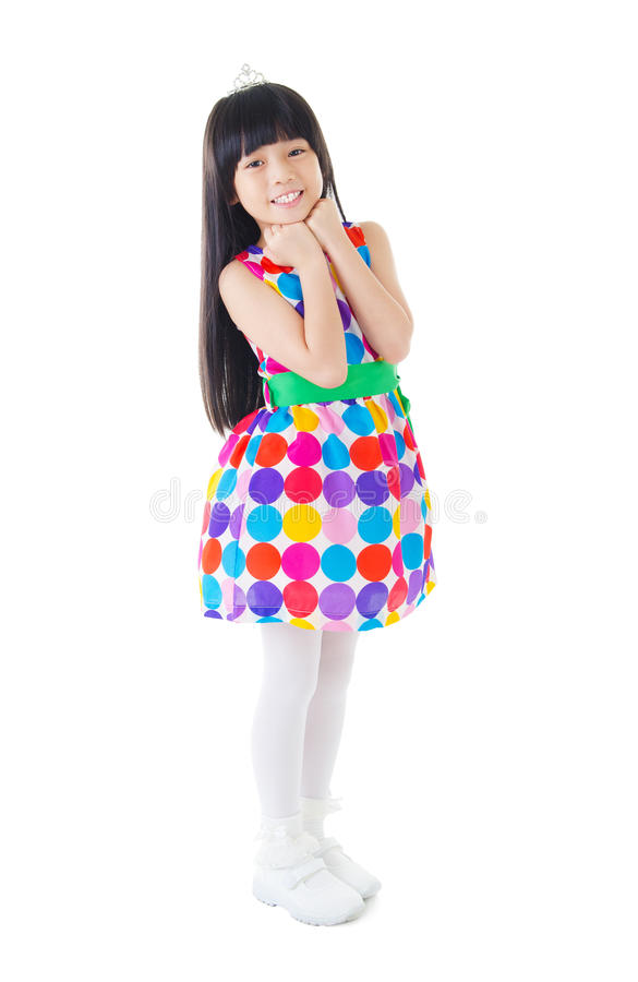 Cute asian girl royalty free stock photography
