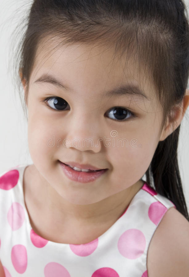 Cute Asian Girls Royalty Free Stock Photography