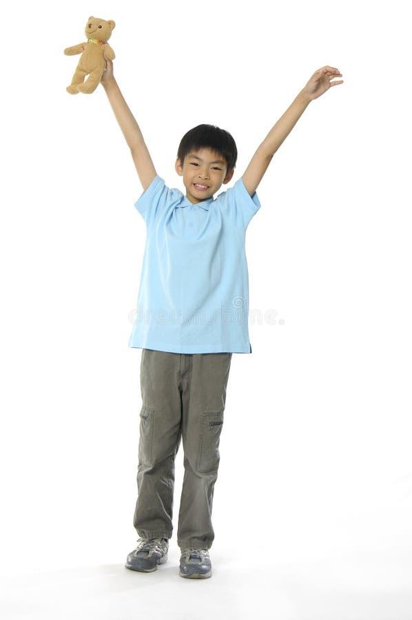 Cute Asian kids stock photos