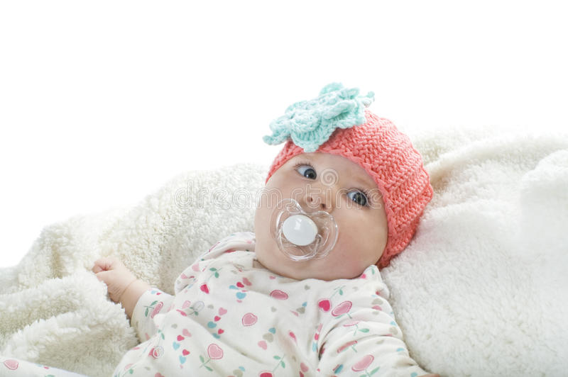 Download Cute baby stock image. Image of newborn, closeup, infant - 28841251