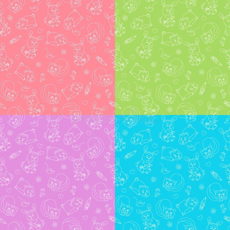 Download Cute baby animals stock vector. Illustration of rabbit - 26536059