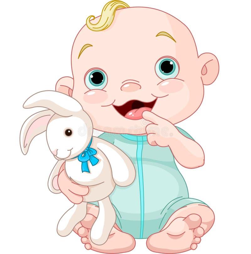 Cute baby boy stock vector. Image of cartoon, blue ...