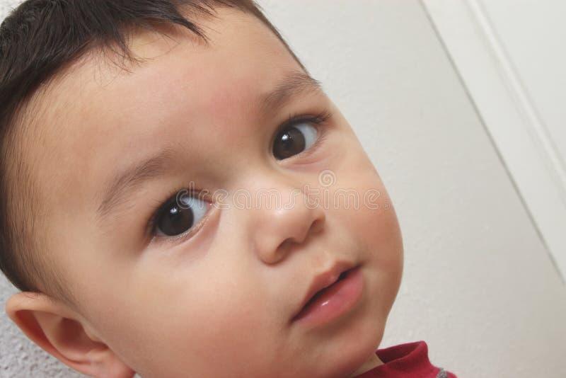 Cute Baby Boy Closeup royalty free stock photos