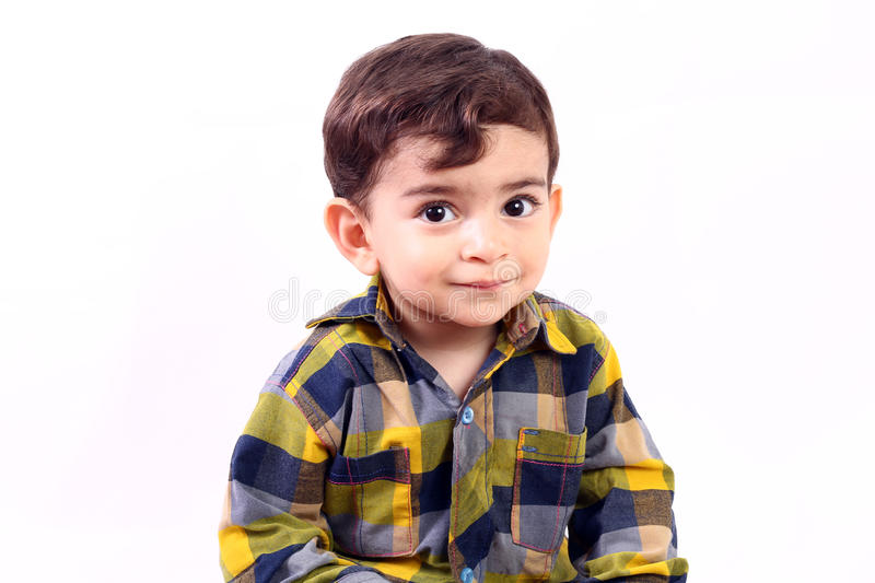 Cute baby boy royalty free stock photography