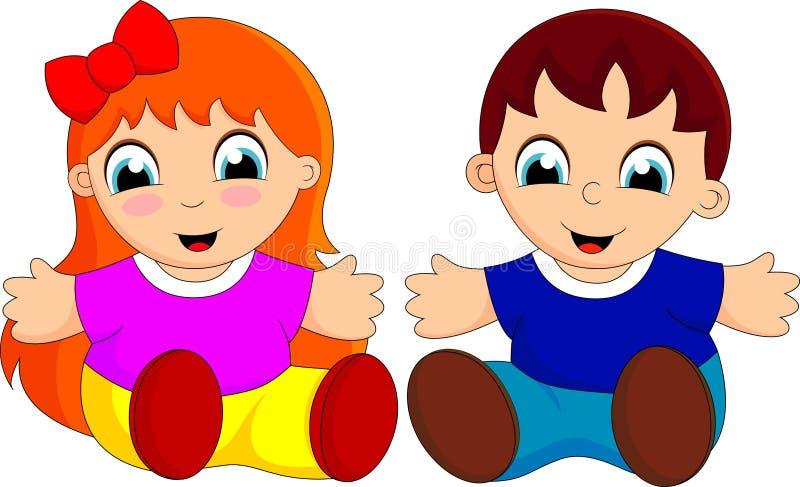 cute baby cartoon stock illustration illustration of expressing rh dreamstime com free images of cartoon babies images of cartoon baby faces
