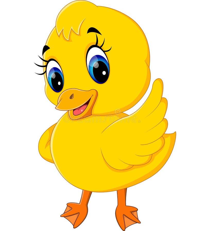Baby duck cartoon characters