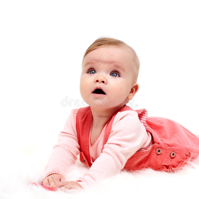 Download Cute Baby Girl stock photo. Image of portrait, childhood - 13261772