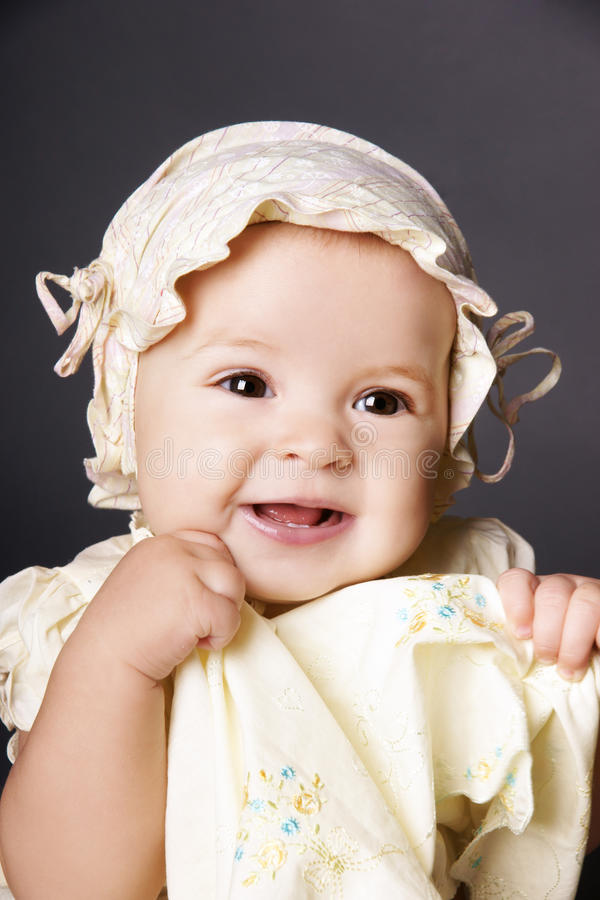 Download Cute baby girl stock photo. Image of caucasian, portrait - 16513774
