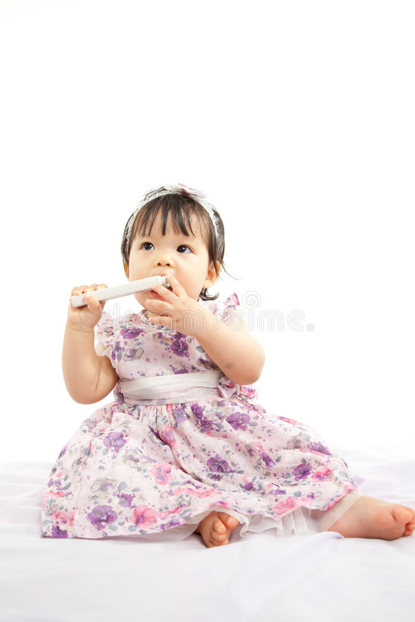 Download Cute Baby Girl Stock Photo - Image: 32365140