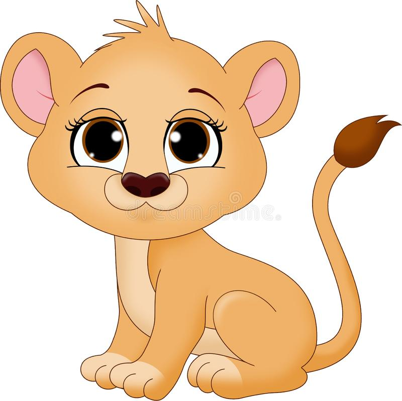Free Cute Baby Lion Cub Royalty Free Stock Photography - 152714057