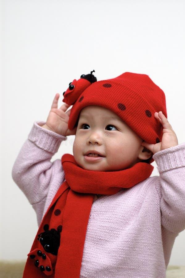 Cute Baby Portrait Stock Photo