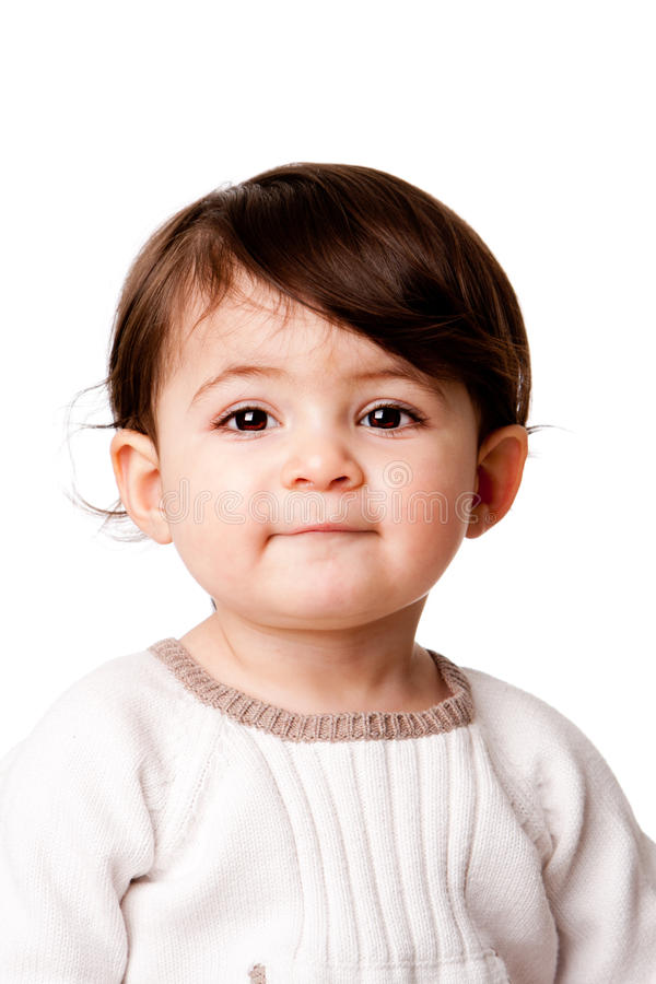 Free Cute Baby Toddler Face Stock Image - 18452501
