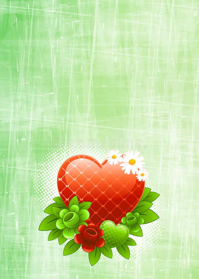 Download Cute Background stock illustration. Illustration of daisy - 12682736