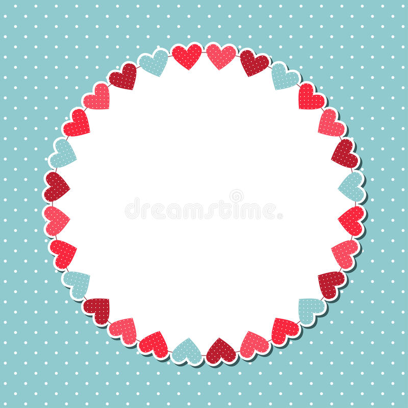 Cute background royalty free illustration