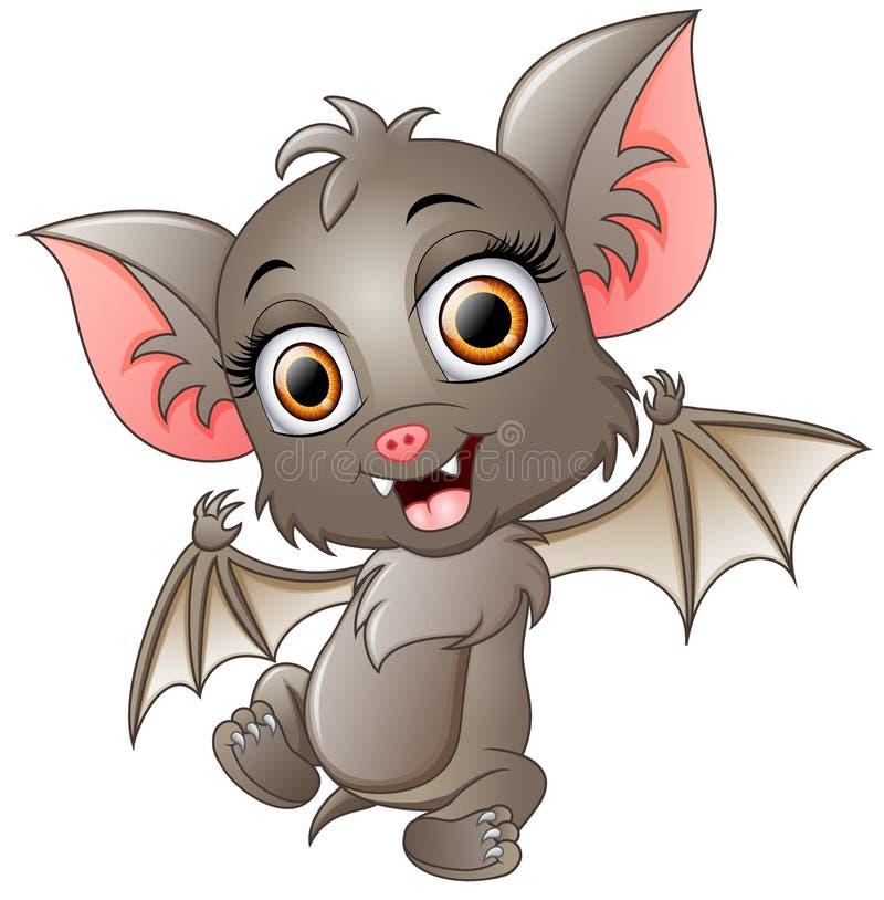 Cartoon Bats: Cute Bat Cartoon Waving Stock Vector. Illustration Of