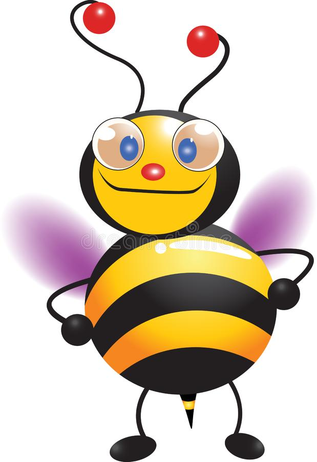 Download Cute bee stock illustration. Illustration of cute, nature - 15087993