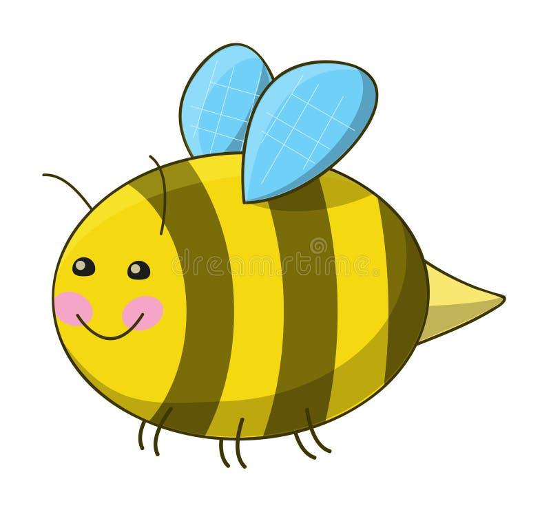 Cute Bee Stock Photo