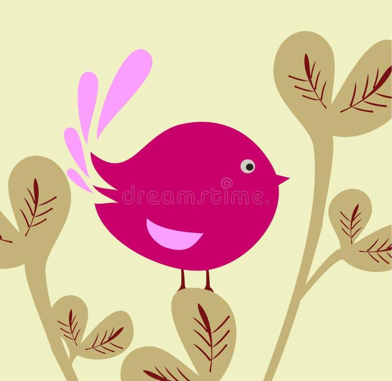 Cute bird royalty free illustration