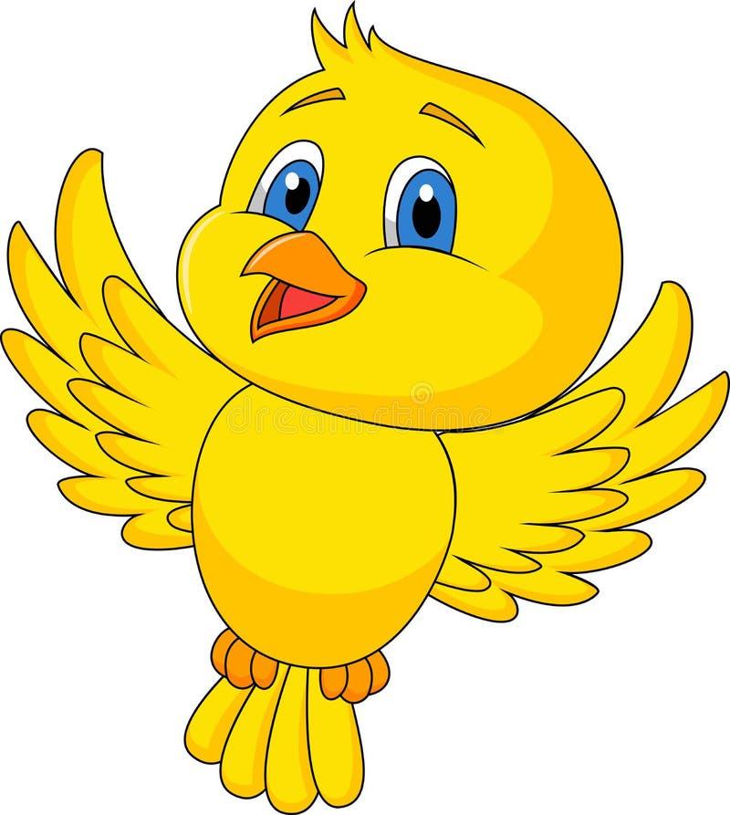 Free Cute Bird Cartoon Flying Royalty Free Stock Photo - 30568005