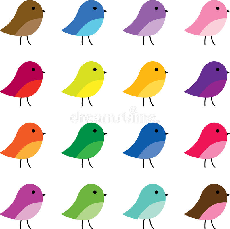 cute bird clipart stock illustration illustration of blue 70836364 rh dreamstime com cute bird flying clipart cute bird clipart black and white