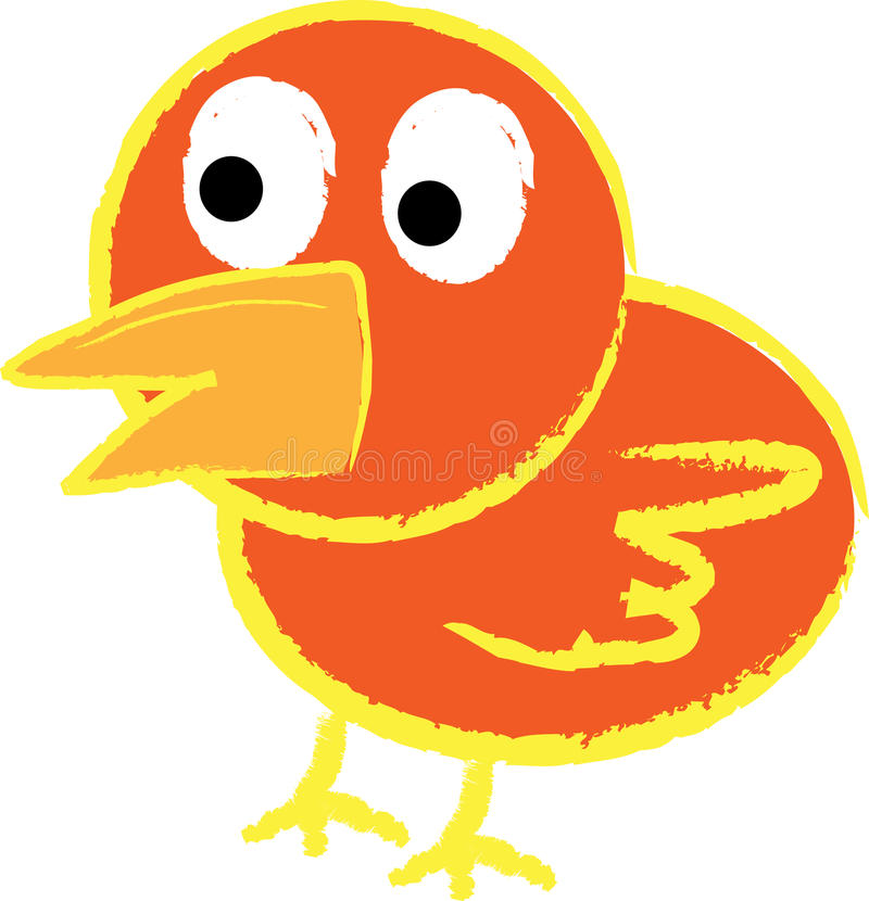 Cute Bird Royalty Free Stock Image