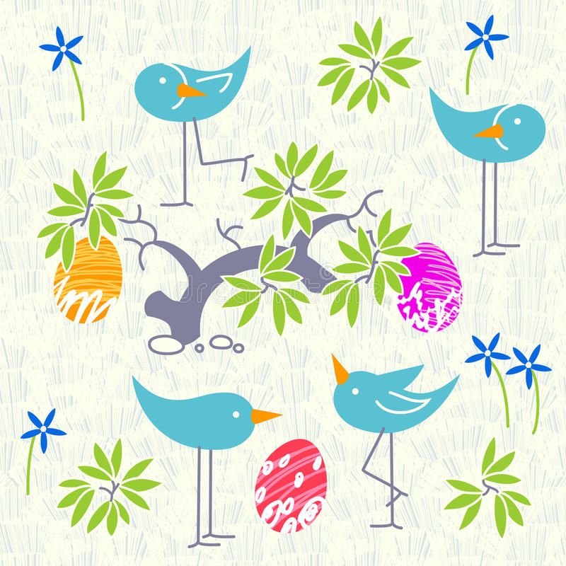 Cute birds baby shower invitation card design seamless pattern download cute birds baby shower invitation card design seamless pattern stock vector illustration of filmwisefo Image collections