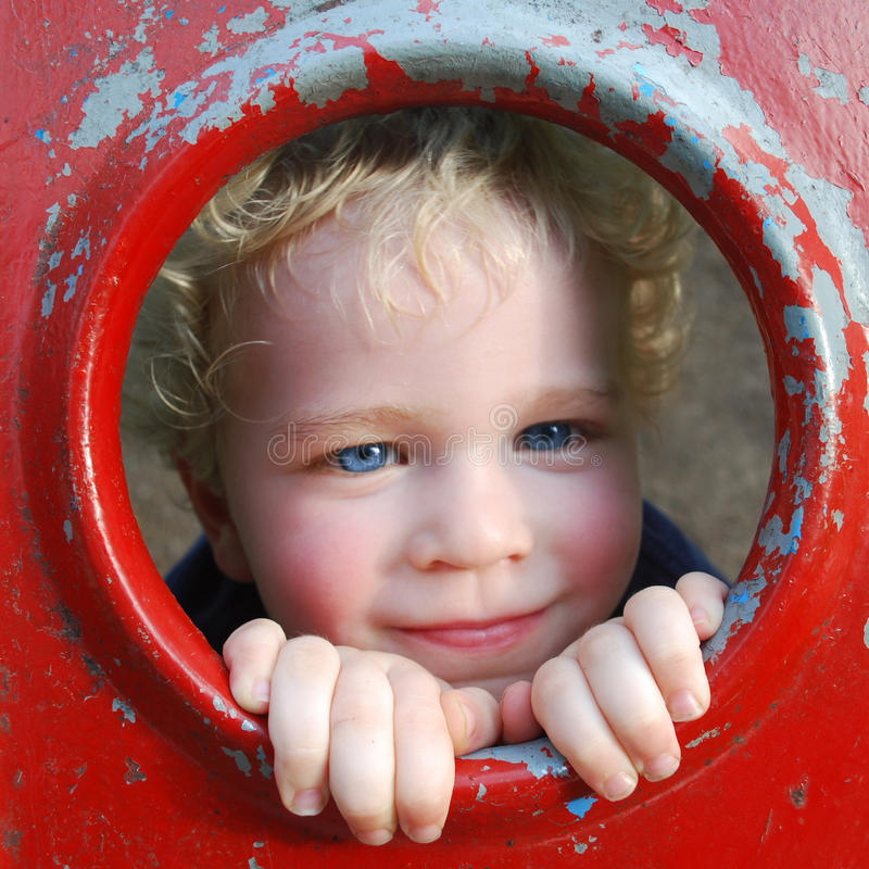 Cute boy stock photography