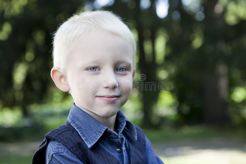 Download Cute boy stock image. Image of field, cute, little, park - 26552309