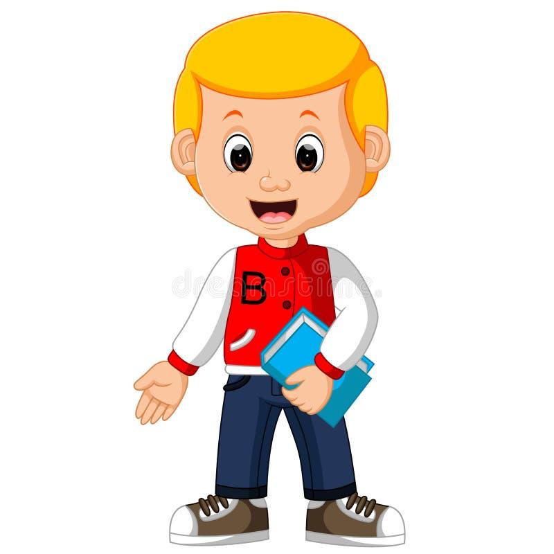 Cute boy cartoon. Illustration of cute boy cartoon stock illustration
