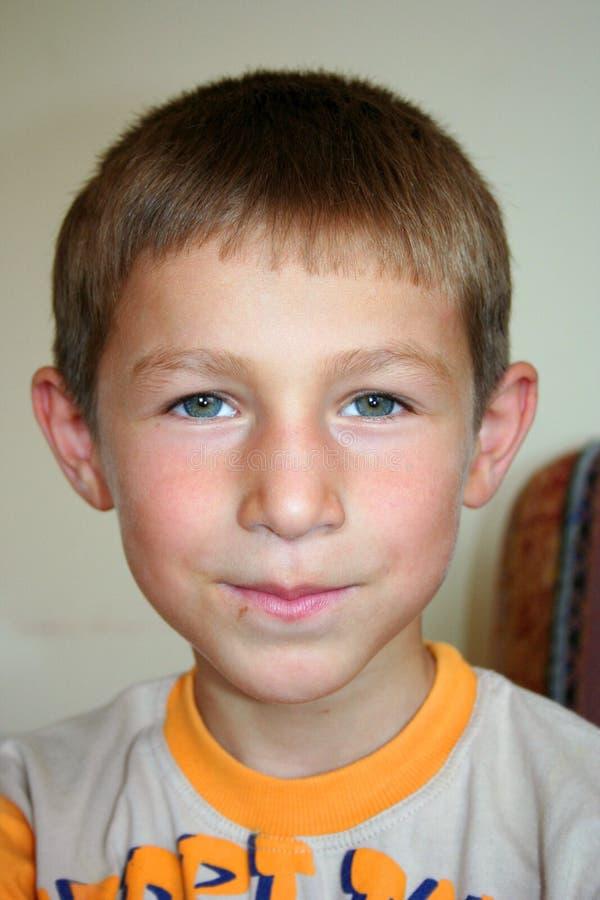 Cute boy portraits royalty free stock photo