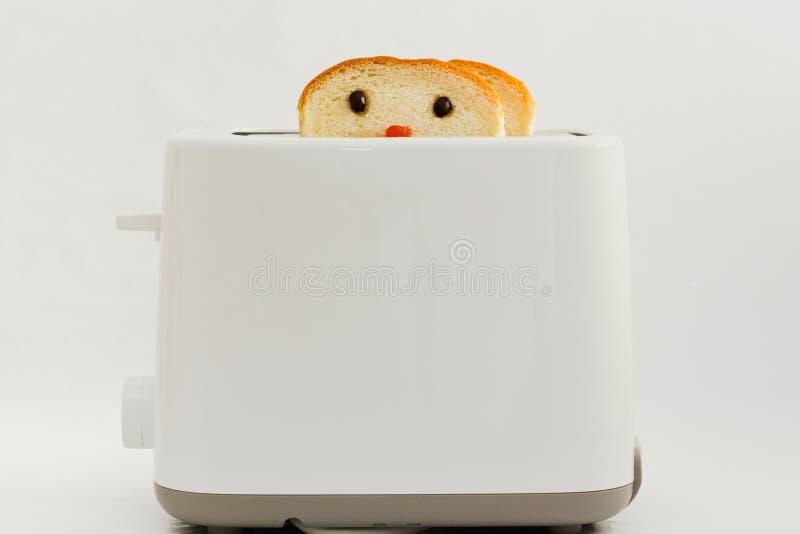 Cute bread stock photo