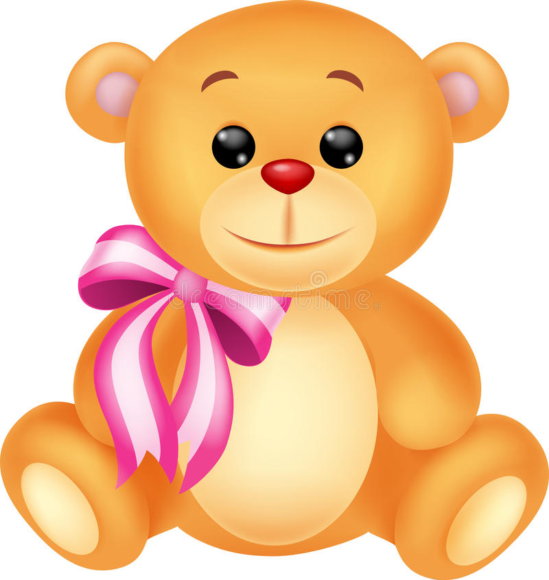 Download Cute Brown Bear Stuff Cartoon Royalty Free Stock Photography - Image: 30568587