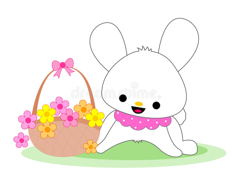 Download Cute bunny stock vector. Image of looking, animal, design - 18889960