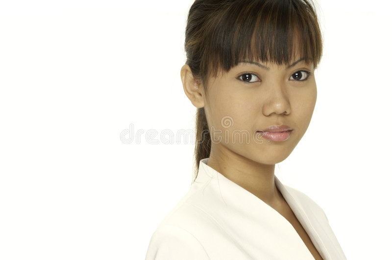 Download Cute Businesswoman stock image. Image of female, happy - 114781