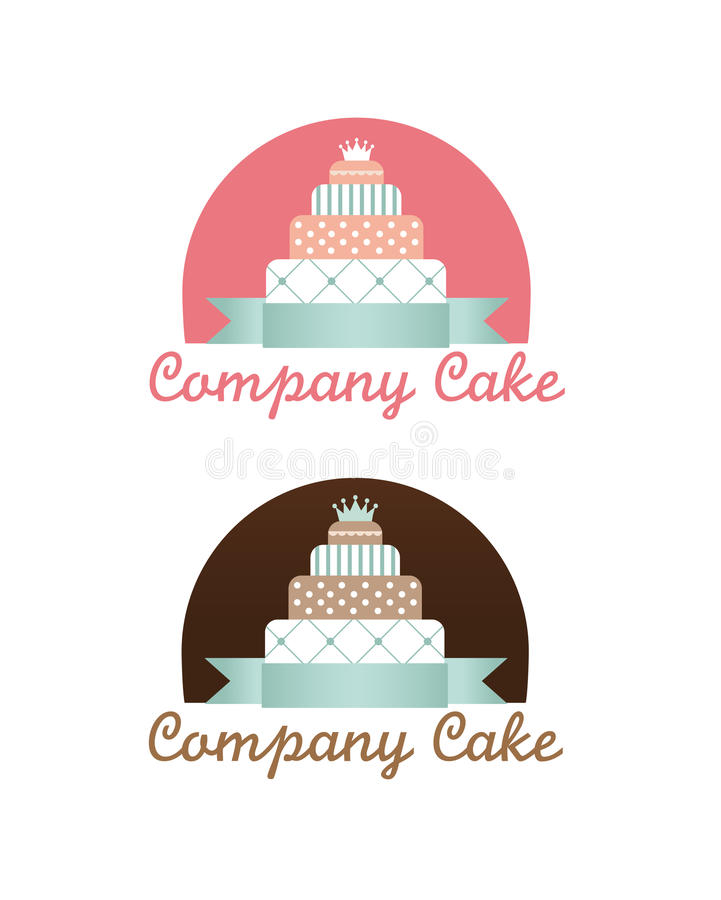 Download Cute cakes set stock vector. Image of baker, celebrate - 23970254