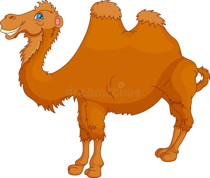 Cute camel cartoon stock illustration