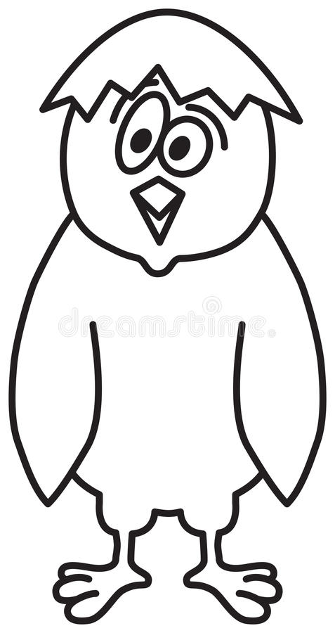 Download Cute Cartoon Chicken stock vector. Illustration of beautiful - 15215638