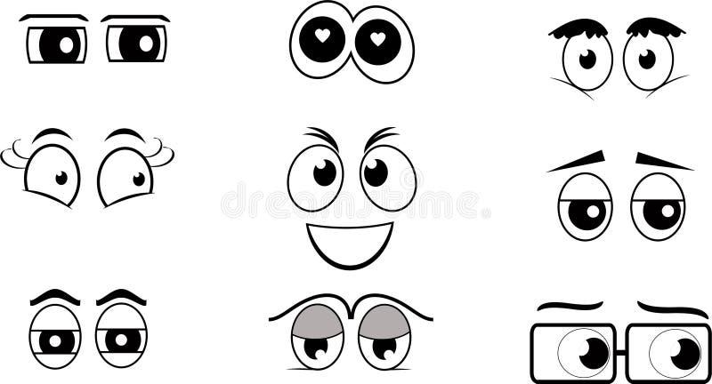 Cartoon Eyes Stock Illustrations 144 008 Cartoon Eyes Stock