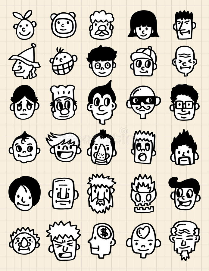 Cute cartoon icon vector illustration