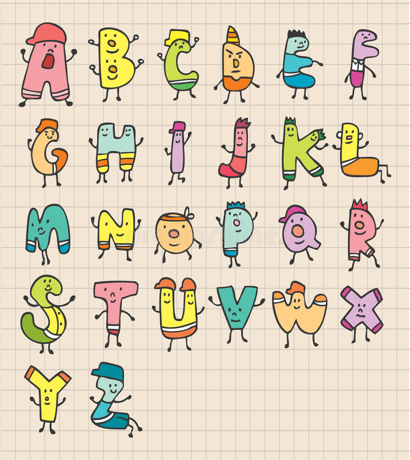 cute text letters