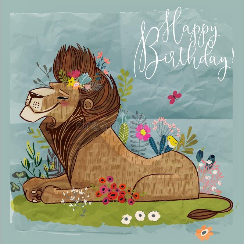 Cute Cartoon Lion King Stock Vector Illustration Of Illustration