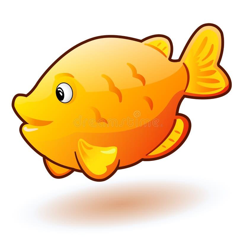 cute cartoon small fish vector clip art illustration with simple rh dreamstime com