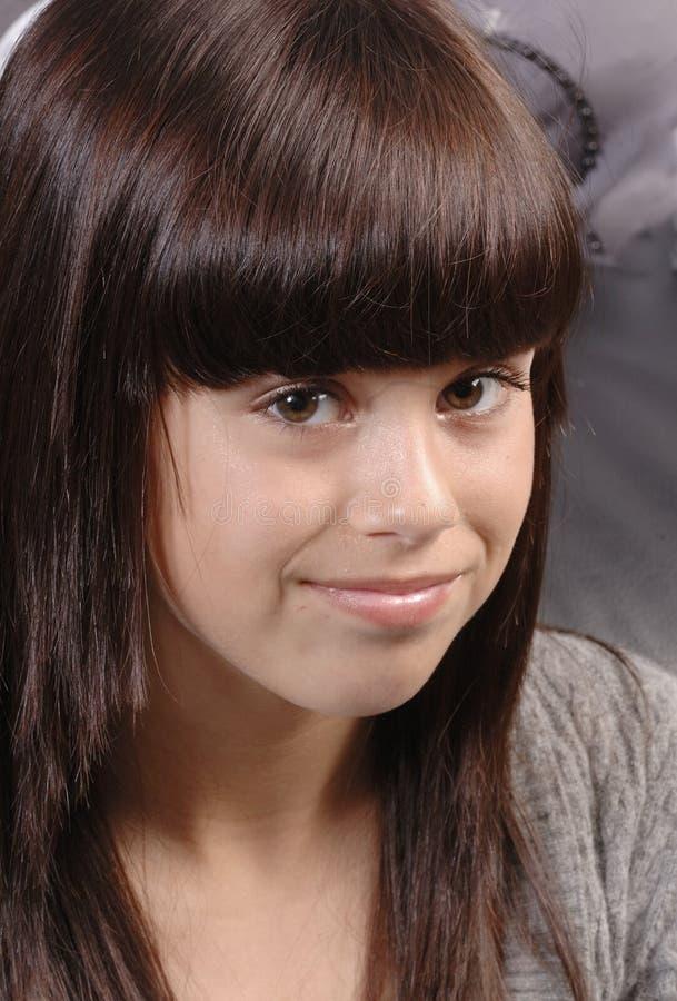 Cute caucasian girl royalty free stock photos