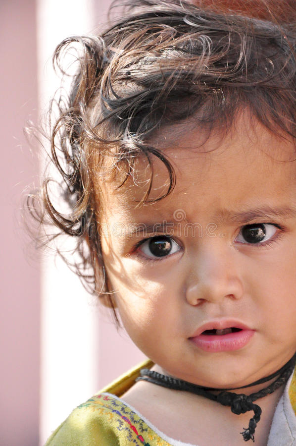 Download Cute child stock image. Image of born, face, cute, indian - 20616993