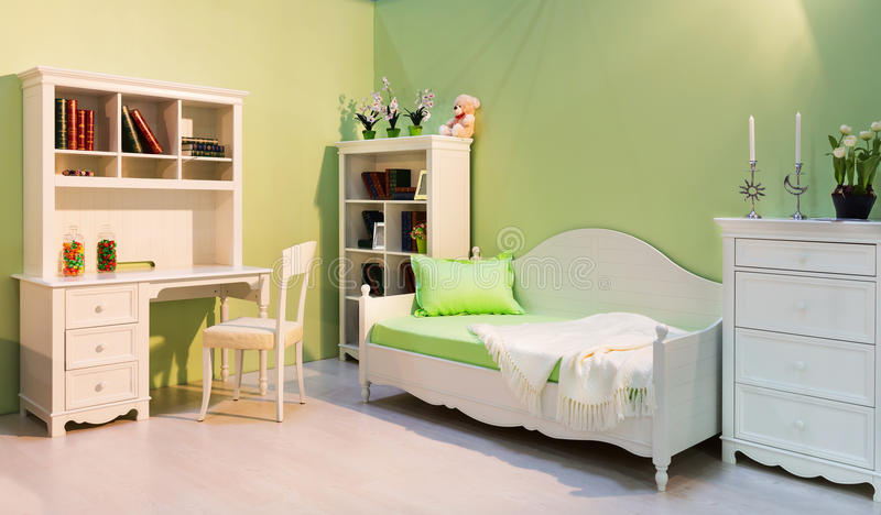 Cute child room stock images